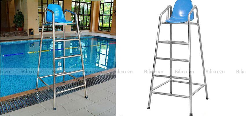 Hình ảnh ghế quan sát bể bơi