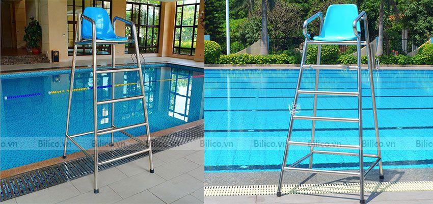 ghế quan sát bể bơi với nhiều tính năng ưu việt