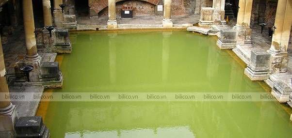 Bể bơi có nồng độ pH thấp
