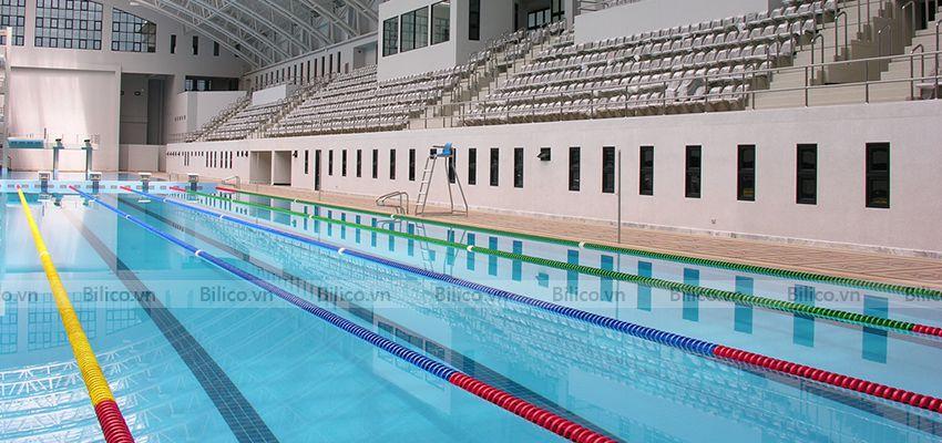Ứng dụng hóa chất xử lý nước bể bơi PAC Ấn Độ
