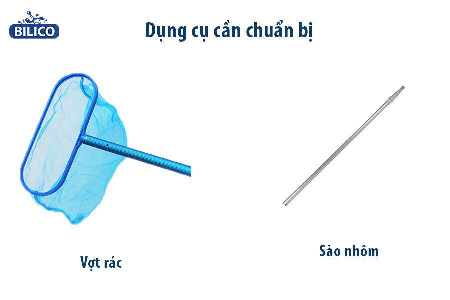 Hướng dẫn lắp vợt rác bể bơi đơn giản và hiệu quả