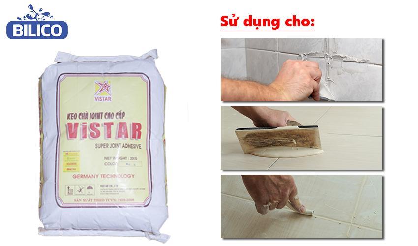 Hướng dẫn sử dụng keo chà mạch Joint Vistar