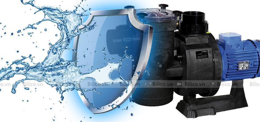 Máy bơm bể bơi Kripsol KAL đạt chuẩn chống nước IP55