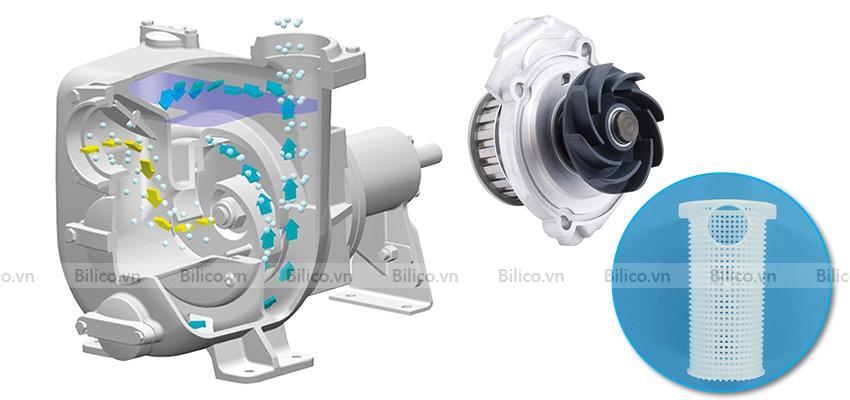 Đặc điểm cấu tạo của máy bơm hồ bơi Kripsol KAP