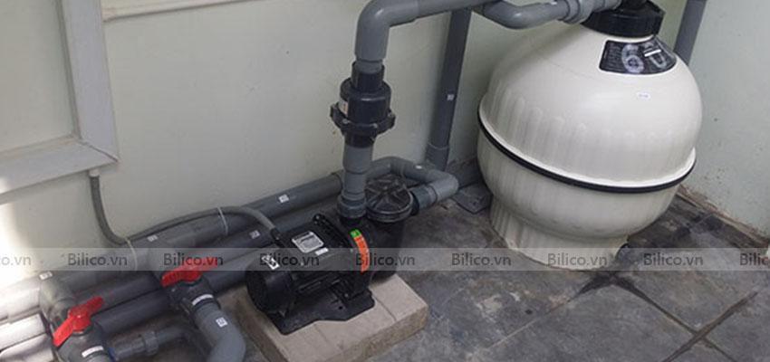 ứng dụng máy bơm bể bơi Kripsol KAN