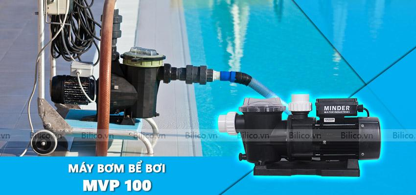 máy bơm bể bơi MVP100