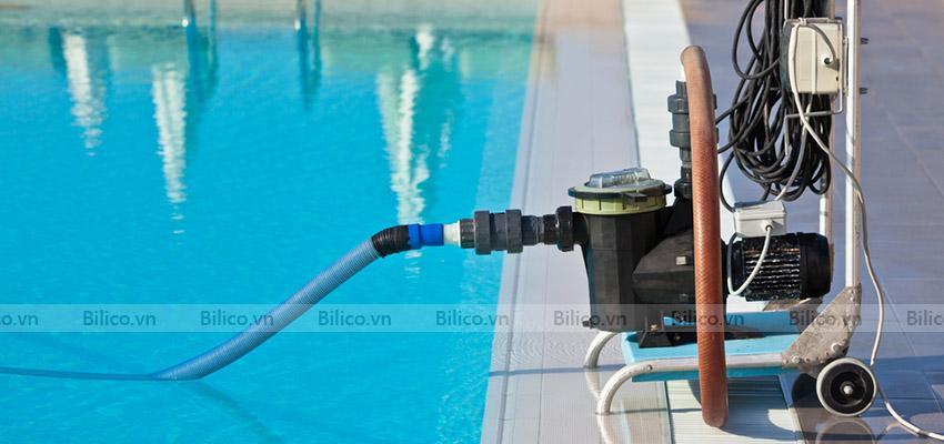 ứng dụng máy bơm bể bơi MVP100