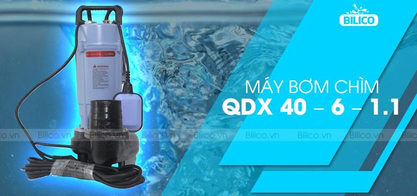 máy bơm chìm QDX 40 – 6 – 1.1