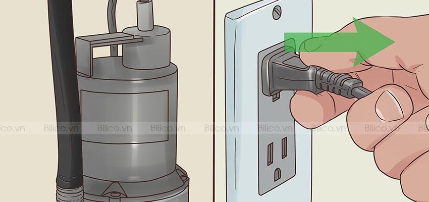 Nguồn cấp điện máy bơm chìm SPS3700
