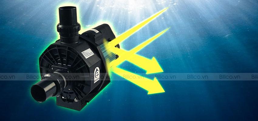 Máy bơm bể bơi Emaux Model SR có khả năng chống ăn mòn, chống thấm nước