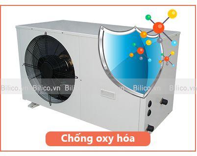 Vỏ máy bơm nhiệt bể bơi Sirac LSQ02RC chống oxy hóa