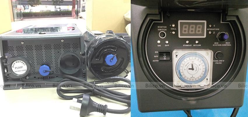 Hình ảnh máy điện phân muối Emaux SSC Series