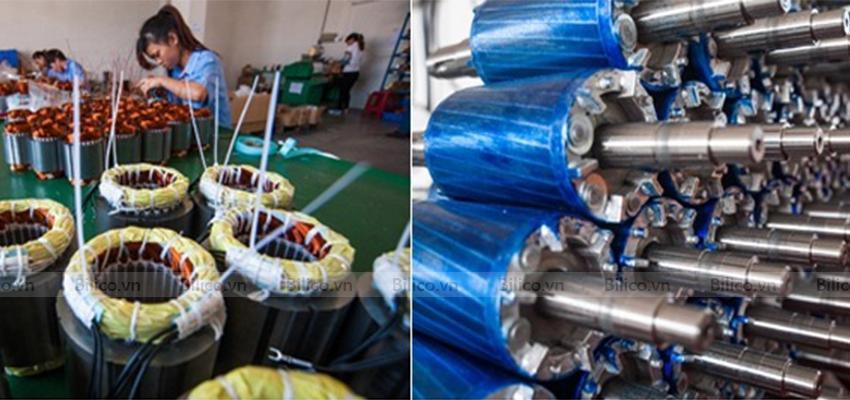 Sản xuất máy thổi khí con sò Kripsol SKH250M