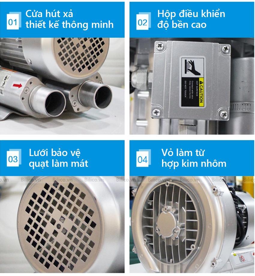 Ưu điểm máy thổi khí con sò Kripsol SKH250T1