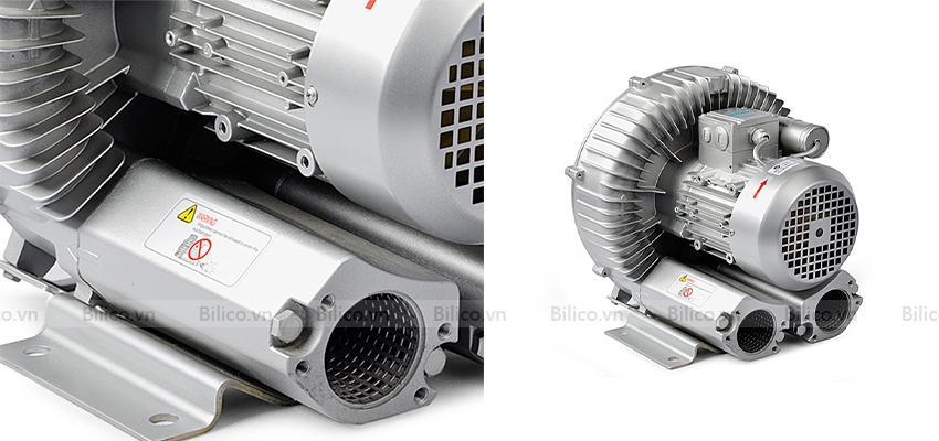 Vỏ máy thổi khí con sò Kripsol SKH250T1 từ hợp kim nhôm(hồbơi) Bilico