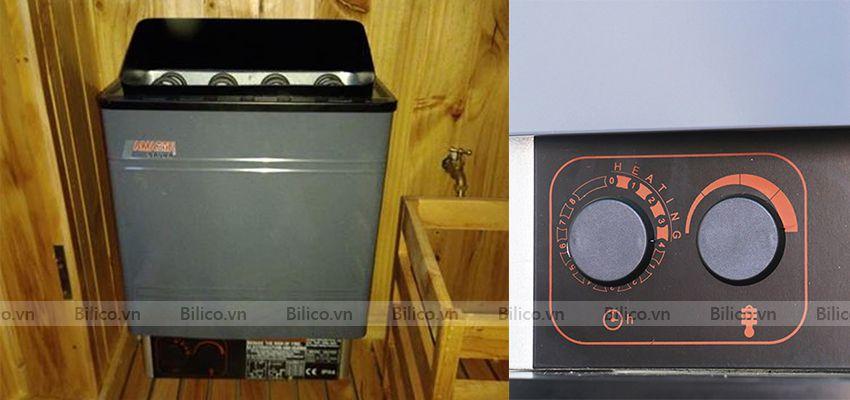 máy xông hơi khô Amazon có bộ điều khiển thông minh