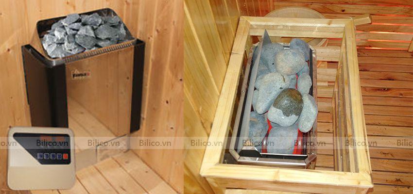 Ứng dụng máy xông hơi khô Amazon