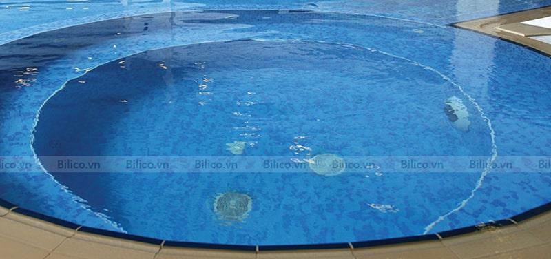 Hình ảnh nắp thu đáy Emaux EM2826 tại bể bơi