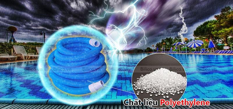 ống mềm hút vệ sinh bể bơi Midas bằng polyethylene
