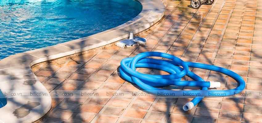 Hình ảnh ống mềm hút vệ sinh bể bơi Tafuma