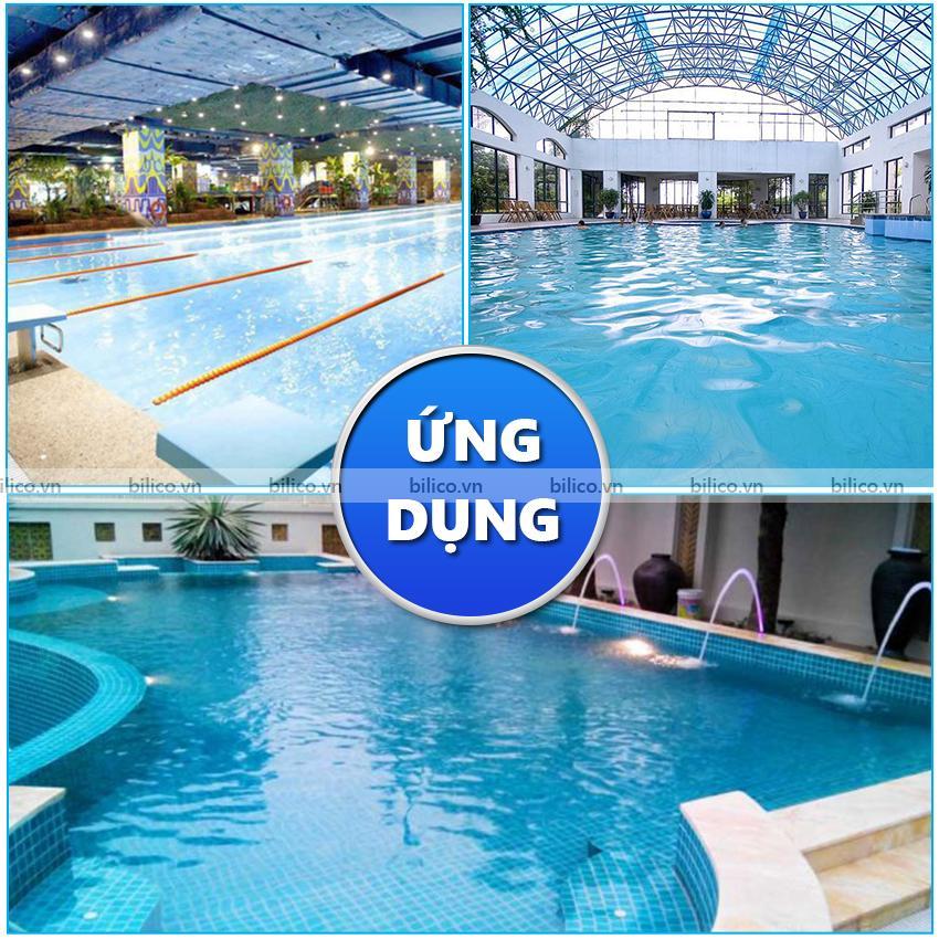 Ứng dụng ống xuyên thành bể bơi Aquareva Procopi