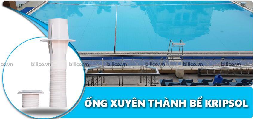 ống xuyên thành bể bơi Kripsol