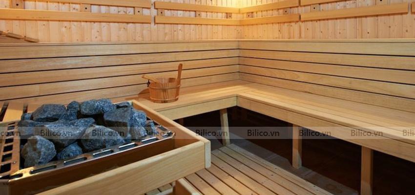 Đặc điểm phòng xông hơi khô bằng gỗ