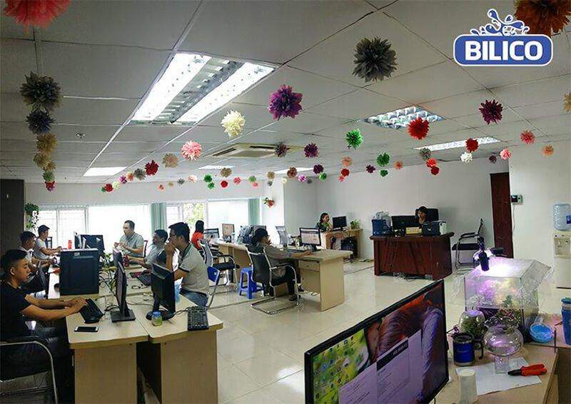Phòng marketing công ty Bilico