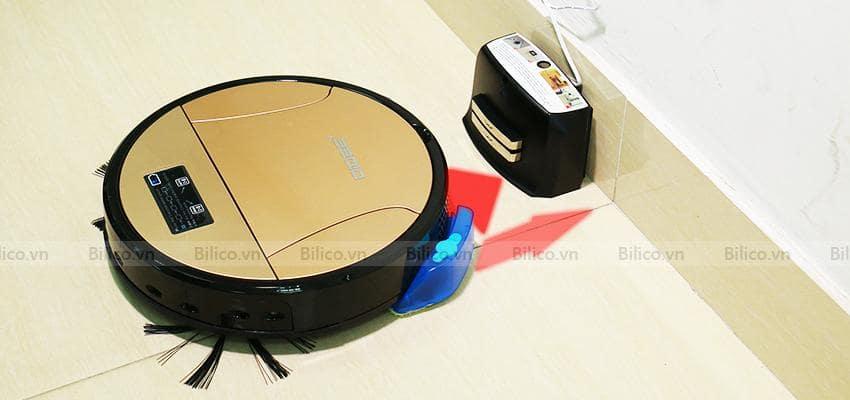 Robot lau sàn nhà 350 có khả năng sạc pin tự động