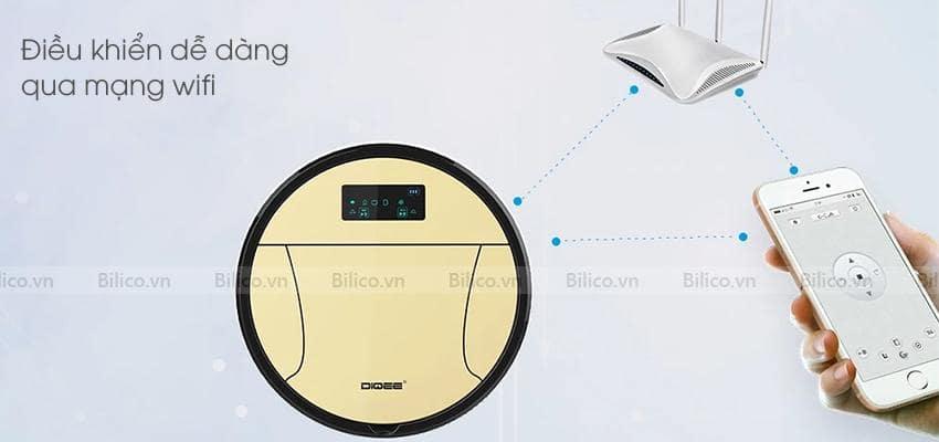 Robot lau sàn nhà 350 điều khiển dễ dàng qua wifi