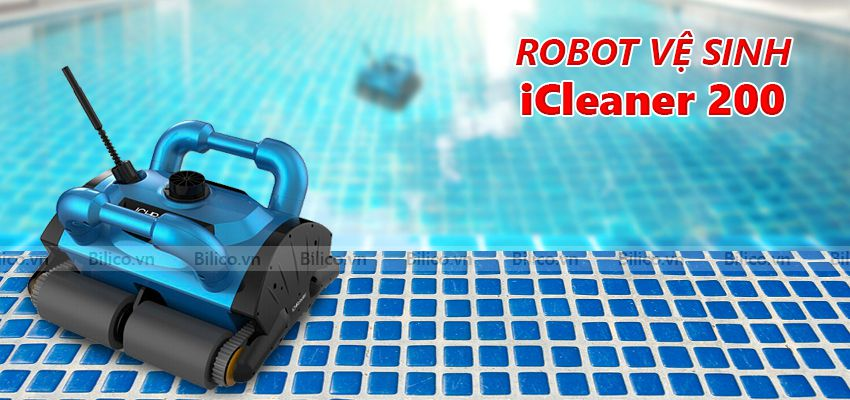 Robot vệ sinh bể bơi Cleaner 200