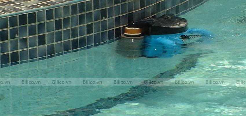 Ứng dụng robot vệ sinh bể bơi icleaner 200