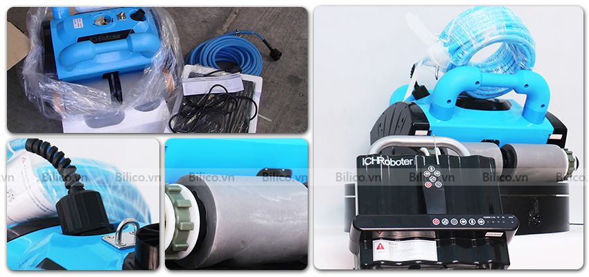 Các bộ phận robot vệ sinh bể bơi icleaner 200