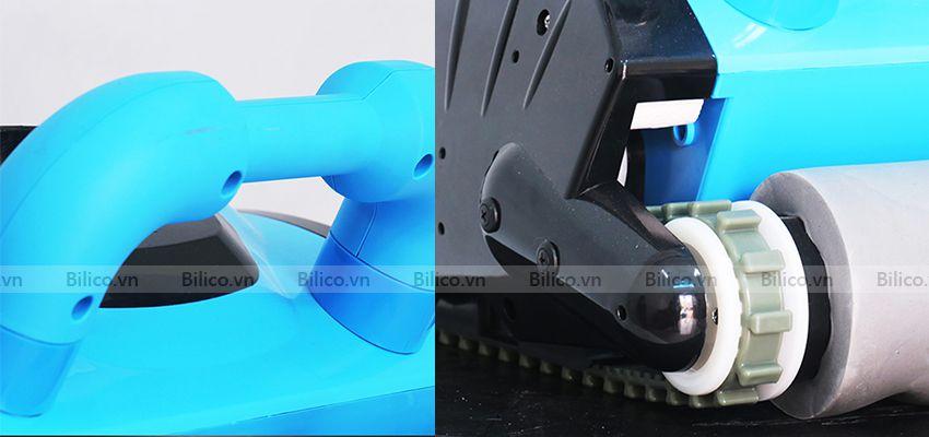 robot vệ sinh bể bơi icleaner 200 có tay cầm tiện lợi