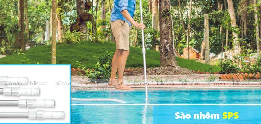 sào nhôm bể bơi SPS
