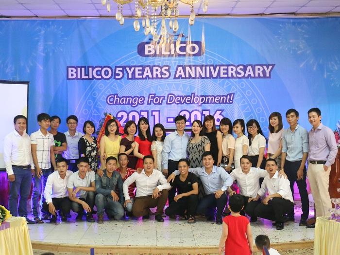 tập thể nhân viên công ty Bilico