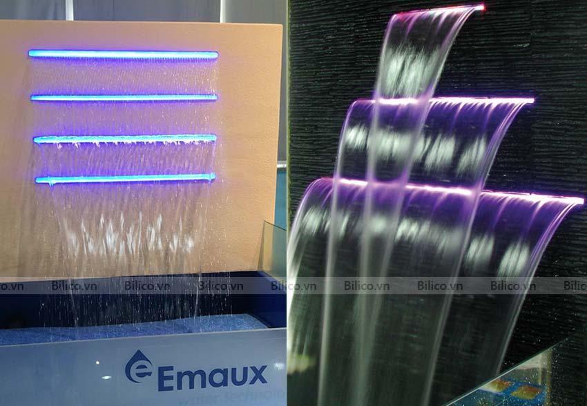 Hình ảnh thác nước Emaux tại bể bơi