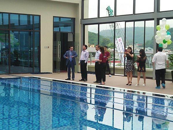 Bilico bàn giao bể bơi cho Khu Đô Thị Cao Cấp The Manor Lào Cai