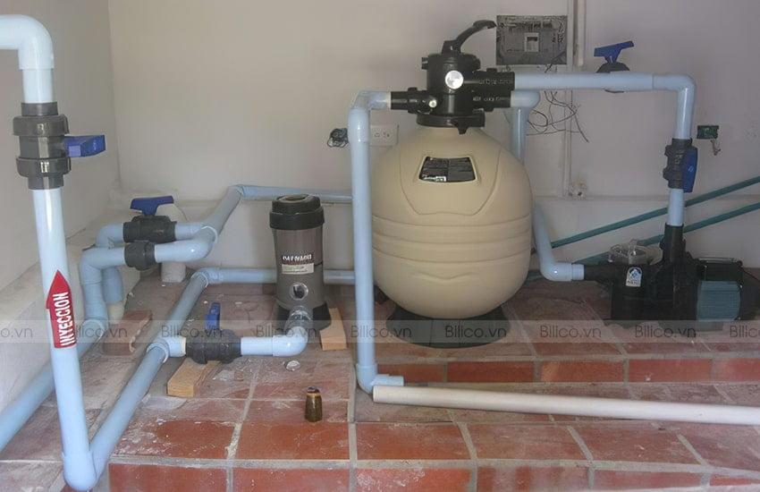 Ứng dụng bình lọc bể bơi Emaux MFV35
