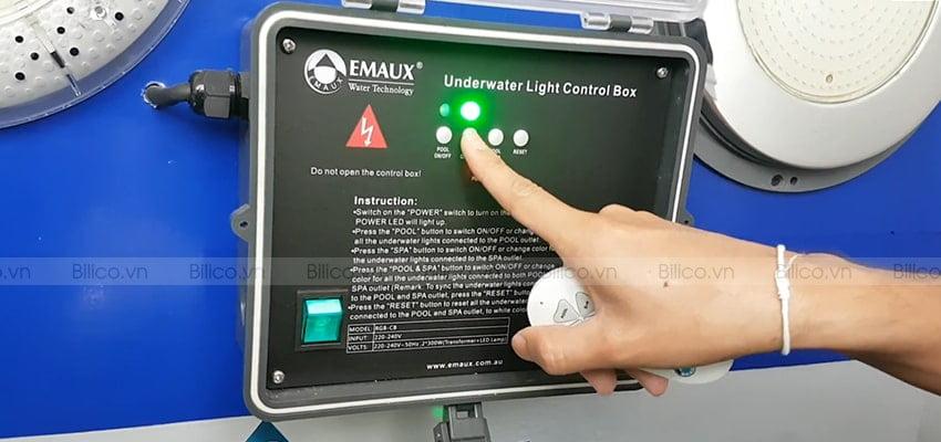 ưu điểm hộp điều khiển đèn led Emaux