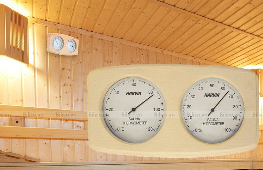Ứng dụng nhiệt ẩm kế Harvia