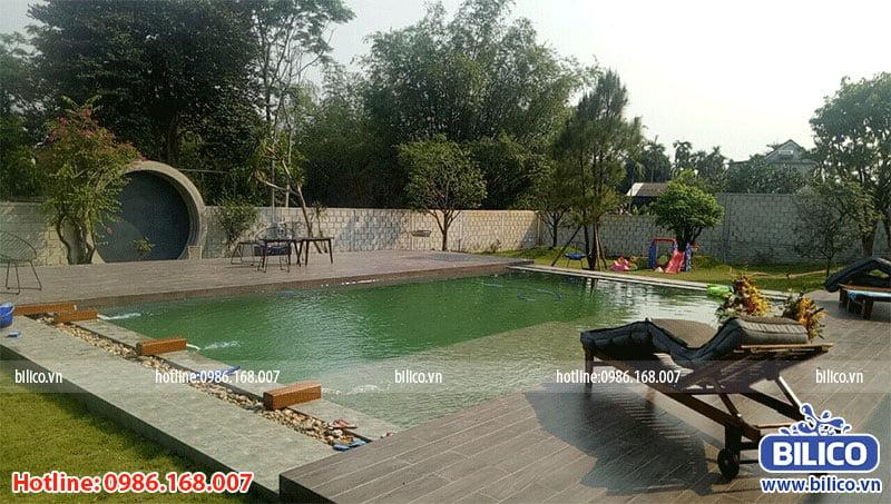 Công trình bể bơi gia đình số 4