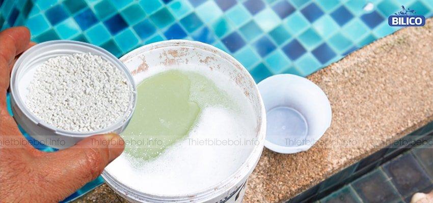 Thông tin chlorine ấn độ aqua org 45kg