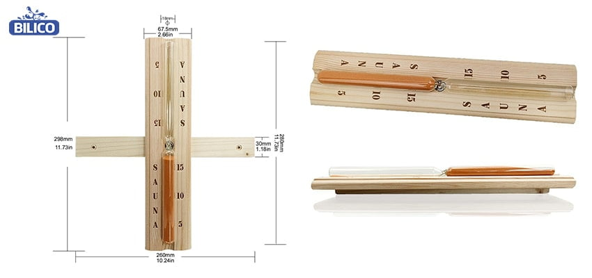 Đặc điểm thứ 1 đồng hồ cát sauna