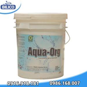 Hóa chất chlorine aqua org 25kg