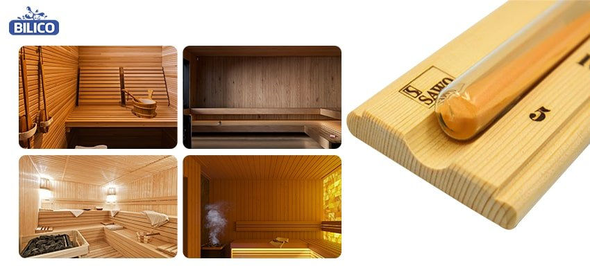 Ứng dụng đồng hồ cát sauna