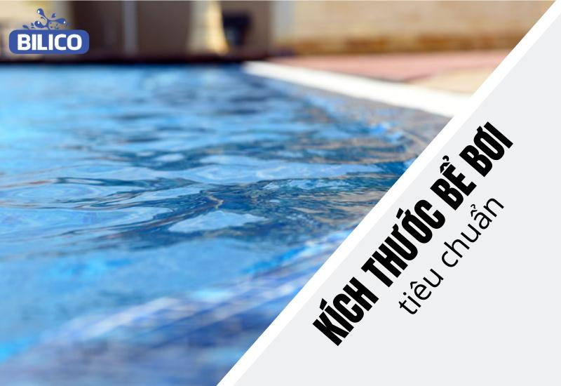 kích thước bể bơi tiêu chuẩn