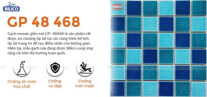 gạch mosaic gốm GP-48468