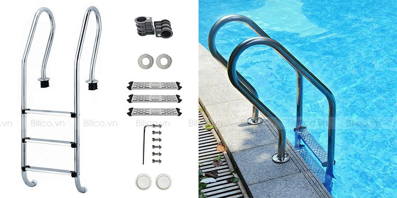 Cấu tạo thang bể bơi SF515