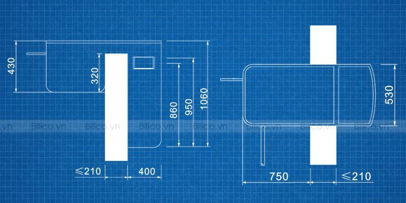 Kích thước máy lọc bể bơi thông minh PK-8022